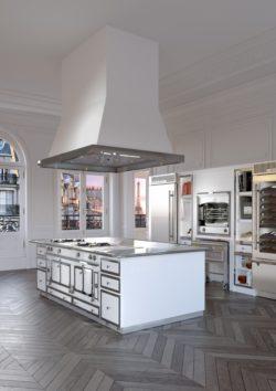 Элитные французские кухни La Cornue в Крыму