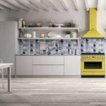 Дизайнерские кухни вместе с профессиональной бытовой техникой SMEG
