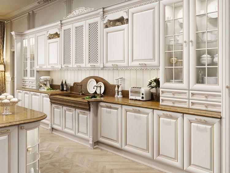 Кухня с итальянскими фасадами