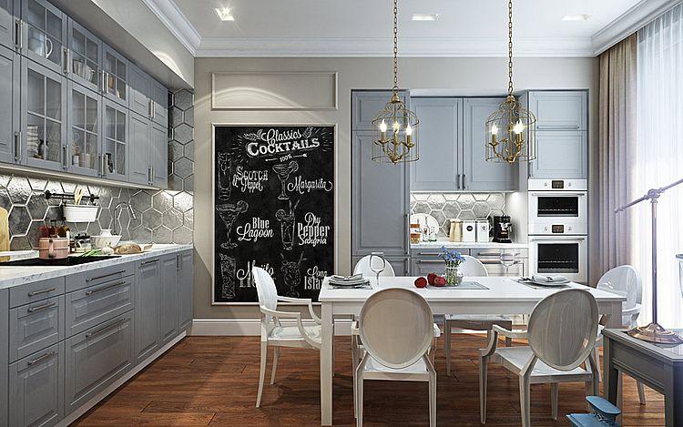 Кухни в стиле в современной классике