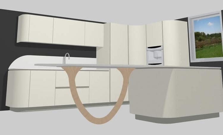Кухни на заказ в Ялте от авторской студии дизайна мебели