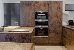 Керамические кухонные фасады: плюсы и минусы