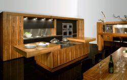 Кухни под заказ из массива дерева в Крыму